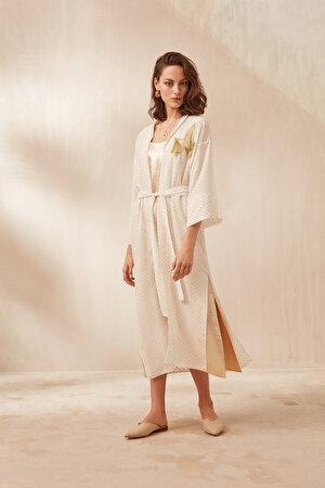 Nakış İşlemeli Kimono