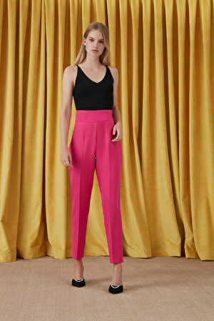Yüksek Bel Basic Pantolon