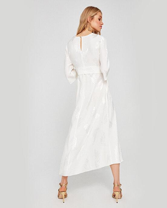 Nocturne Truvakar Kol Model Kemerli Elbise