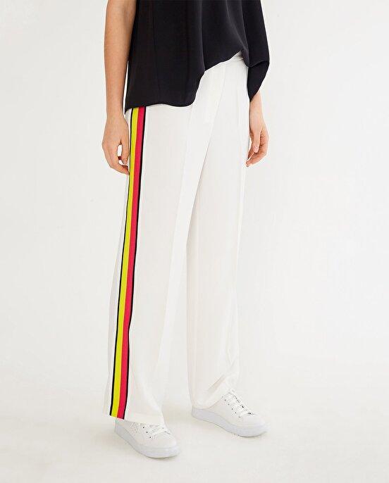 Nocturne Yanı Renkli Şeritli Pantolon