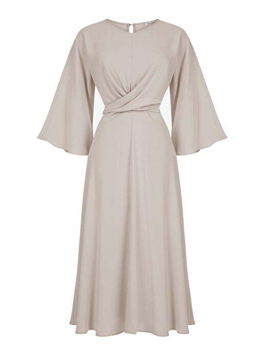 Nocturne Çapraz Kuşak Bağlamalı Elbise