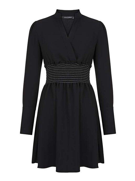 Nocturne Uzun Kol Mini Elbise