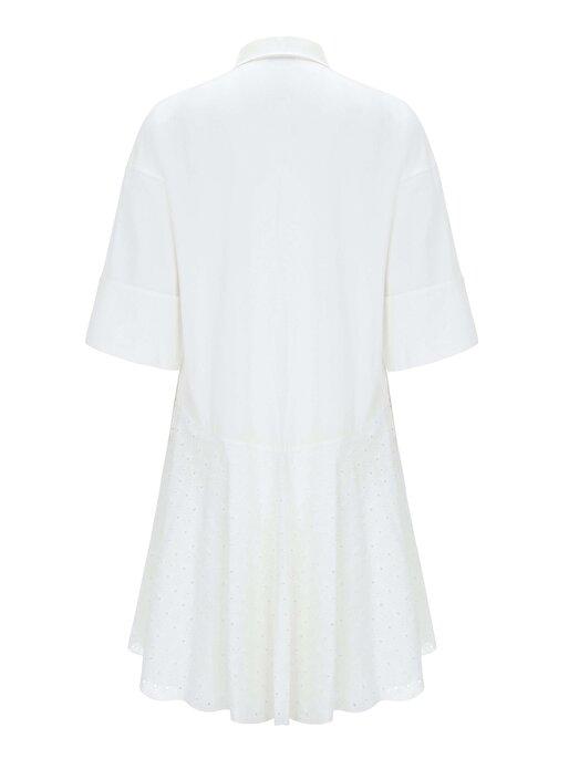 Nocturne Yakası Kristal Taş ve Payet İşlemeli Elbise