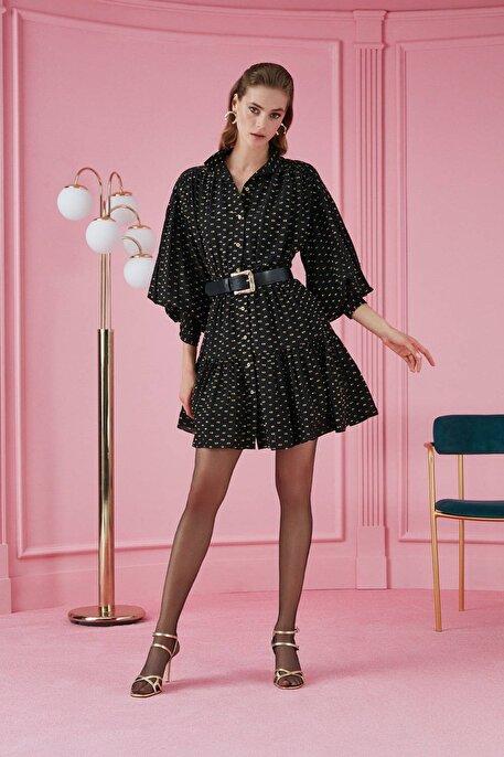 Nocturne Volanlı Mini Elbise