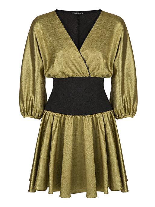 Nocturne Ribana Detaylı Elbise