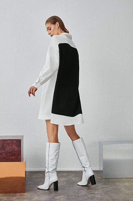 Nocturne Triko Gömlek Elbise