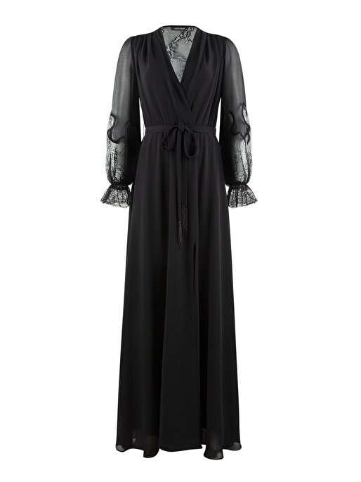Nocturne Dantel Detaylı Elbise