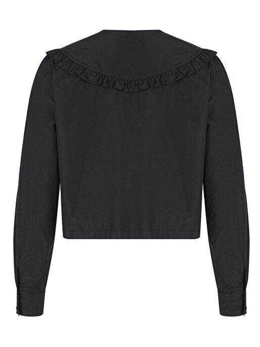 Nocturne Fırfırlı Yakalı Gömlek