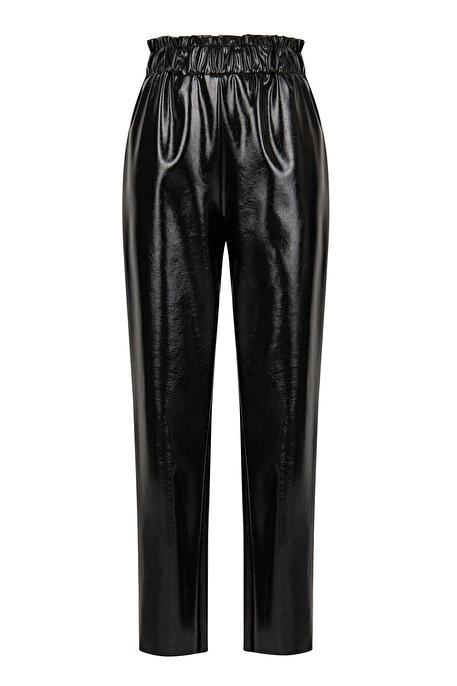 Nocturne Yüksek Bel Rugan Pantolon