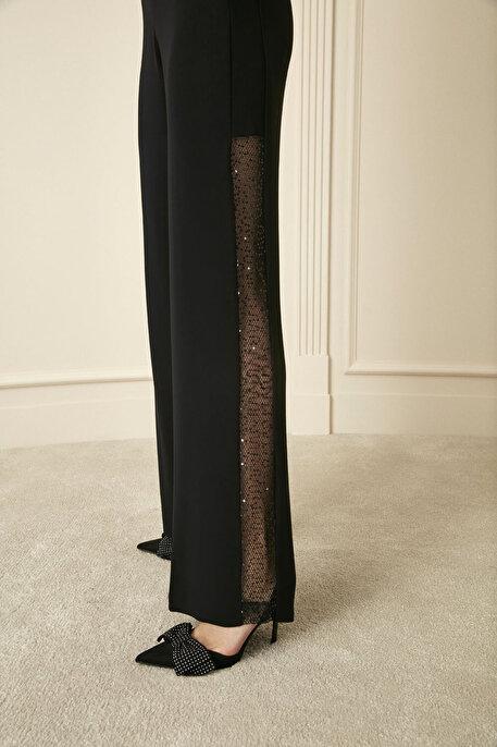 Nocturne File Payet Şeritli Pantolon