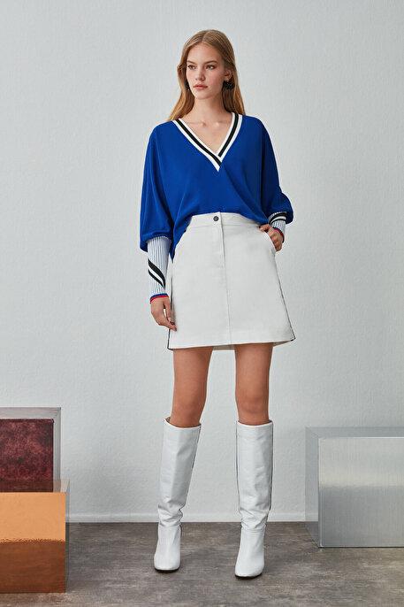 Nocturne Şerit Detaylı Bluz