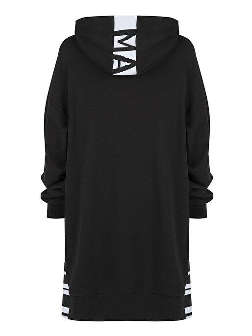 Nocturne Yırtmaç Detaylı Sweatshirt