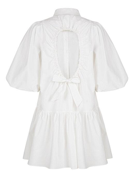 Nocturne Sırt Dekolteli Mini Elbise