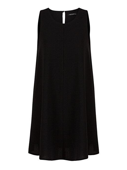 Nocturne Dökümlü Mini Elbise