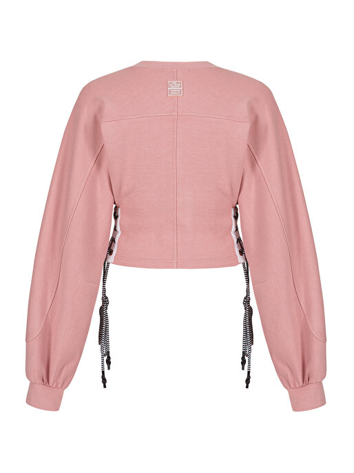 Nocturne Korsajlı Örme Sweatshirt