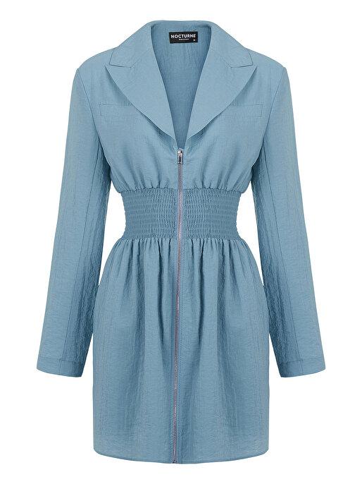 Nocturne Fermuarlı Ceket Elbise