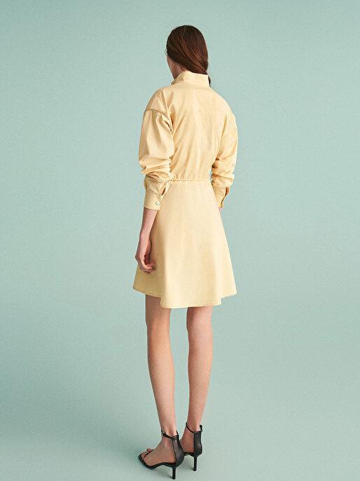 Nocturne Bağcık Detaylı Mini Elbise