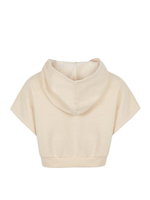 Nocturne Kapüşonlu Crop Sweatshirt