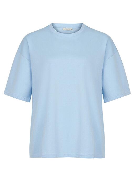 Nocturne Düşük Omuz Oversize Tişört