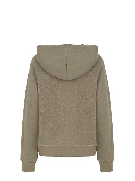 Nocturne Kapüşonlu Nakışlı Sweatshirt