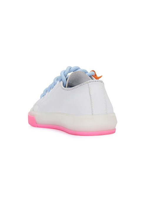 Nocturne Çift Renk Tabanlı Deri Sneaker