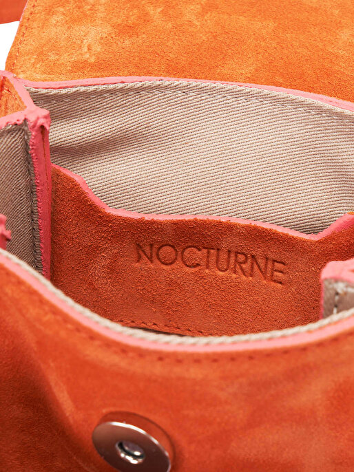 Nocturne Askılı Mini Süet Çanta