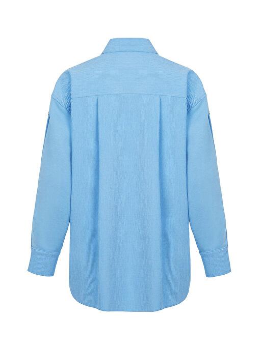 Nocturne Fitilli Kadife Oversize Ceket